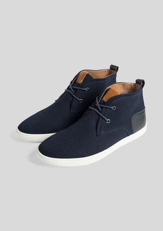 Chaussures montantes Bleu Homme