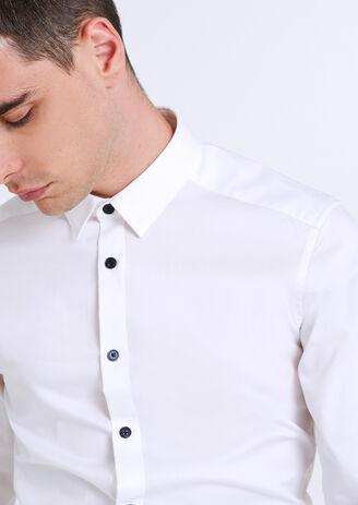 Chemise Extra Slim stretch Blanc Homme
