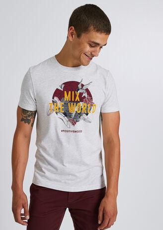 T-shirt MIX THE WORLD'