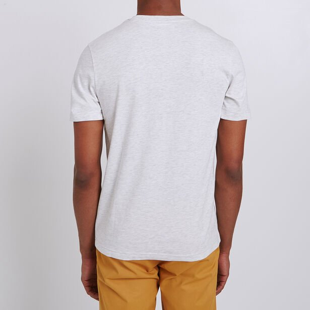 Tee shirt colorblock rayé