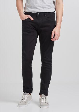 Slim Urbanflex jeans, zwart
