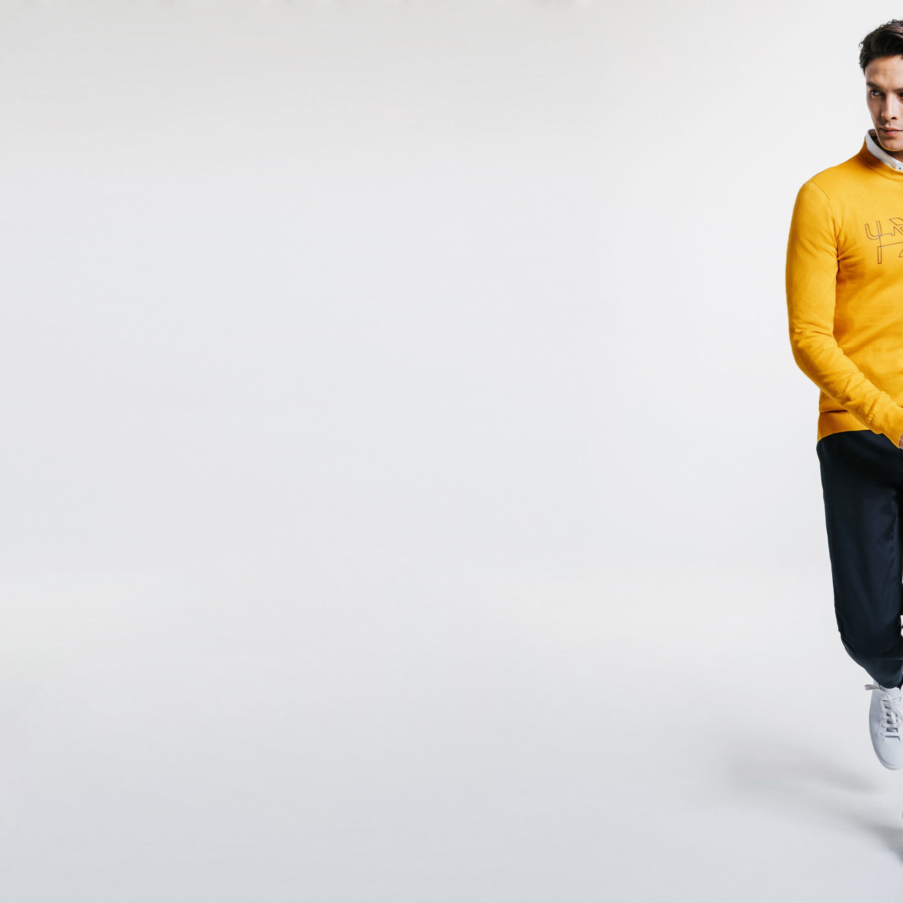 badbd16bdc546 Pull Collection Urbanizer Jaune Moutarde Homme - Jules