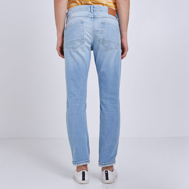 Jean Straight lavé