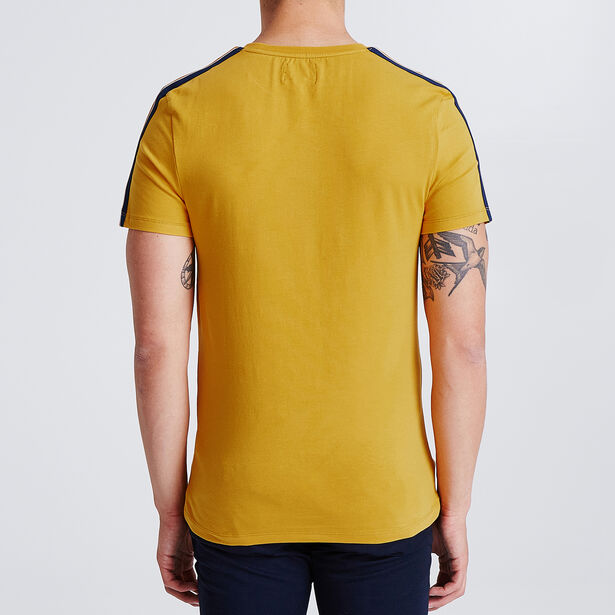 Tee shirt avec bandes manches style sportswear