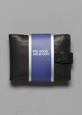 Portefeuille en cuir avec porte-cartes