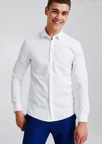 Camicia  slim Stretch
