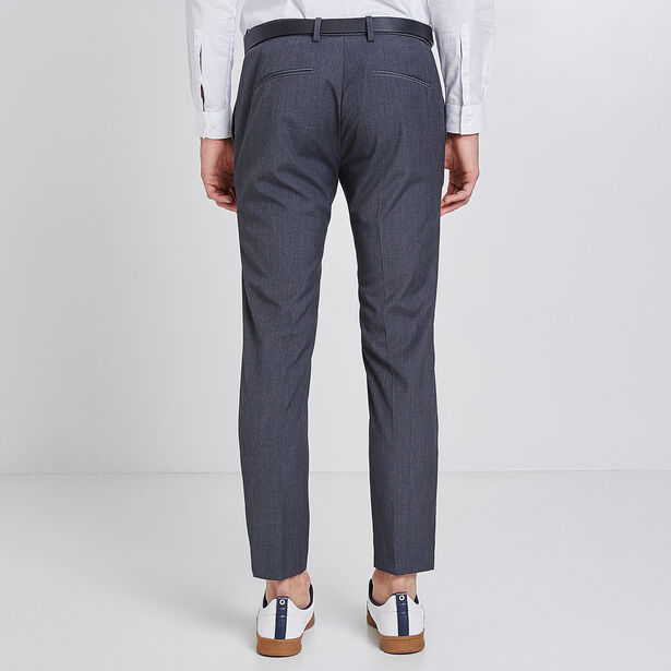 Pantalone Chino cropped grigio