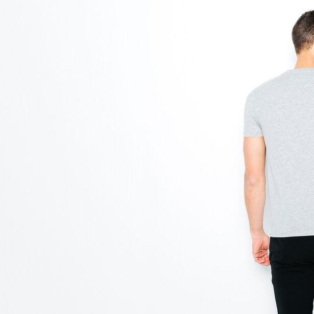 T-shirt color block géométrique