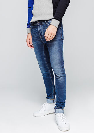 Denim ultra skinny stone
