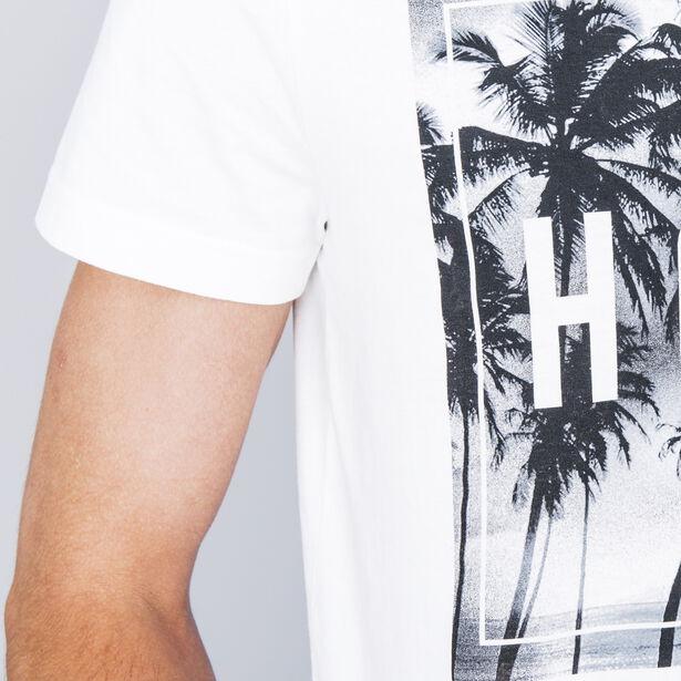"""T-shirt col rond imprimé """"Hola"""""""