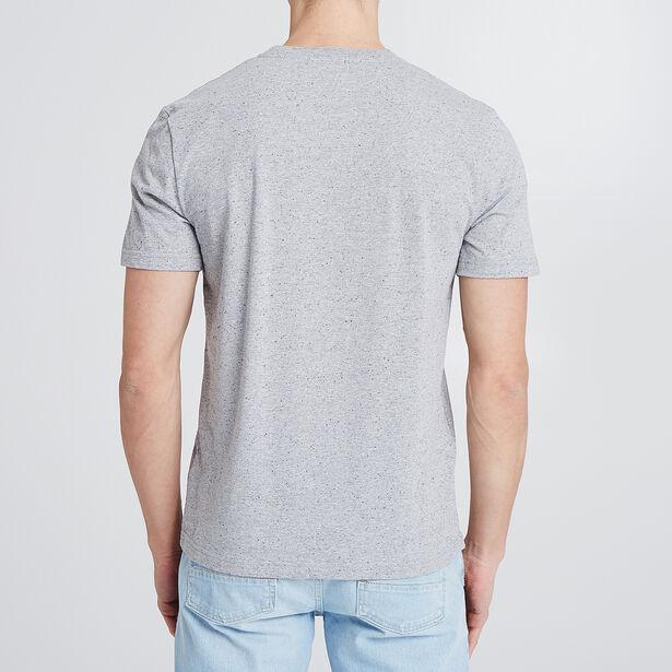 T-shirt met Eiffeltoren-print en opdruk 'La belle