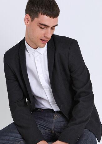 Slim vest in tricot