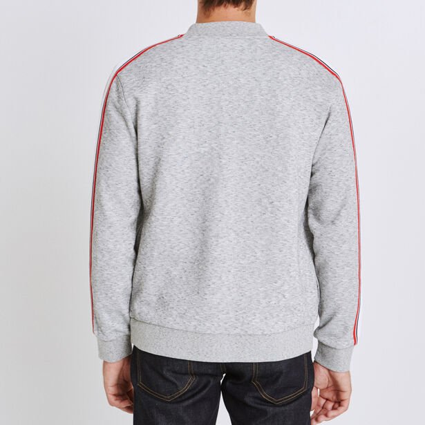 Sweat col montant maille fantaisie
