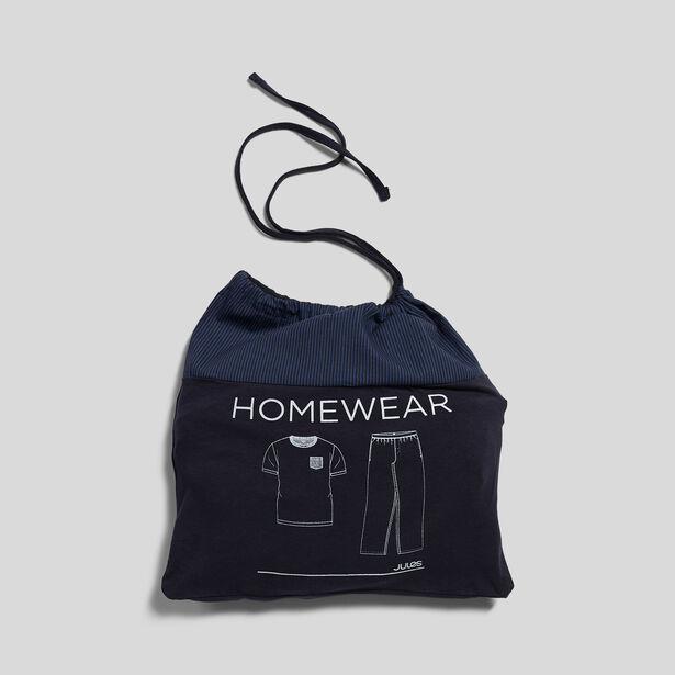 Pyjama gestreepte broek + T-shirt