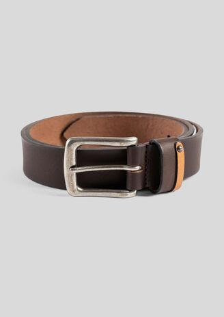 Cintura in pelle larga