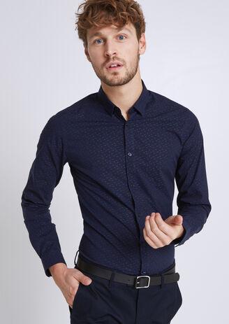 Chemise Brodée Extra Slim