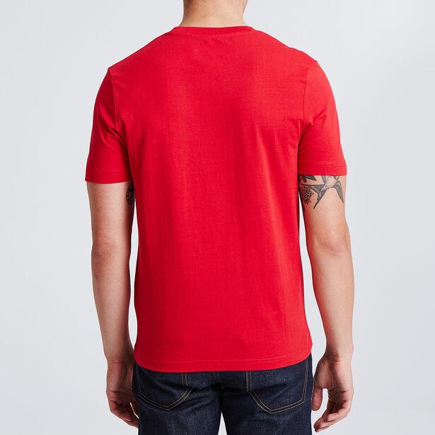 """Tee shirt col rond imprimé rond graphique """"arty"""""""