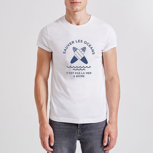 Tee shirt Jules X Surf rider