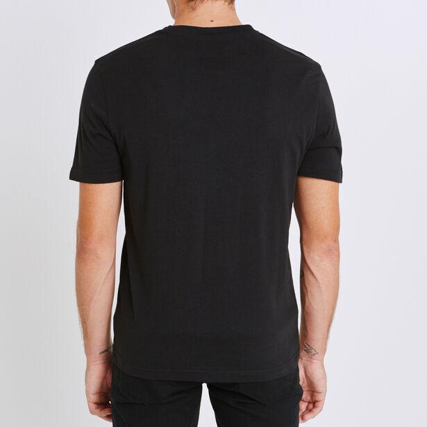 T-shirt ronde hals, met opdruk 'Influence'