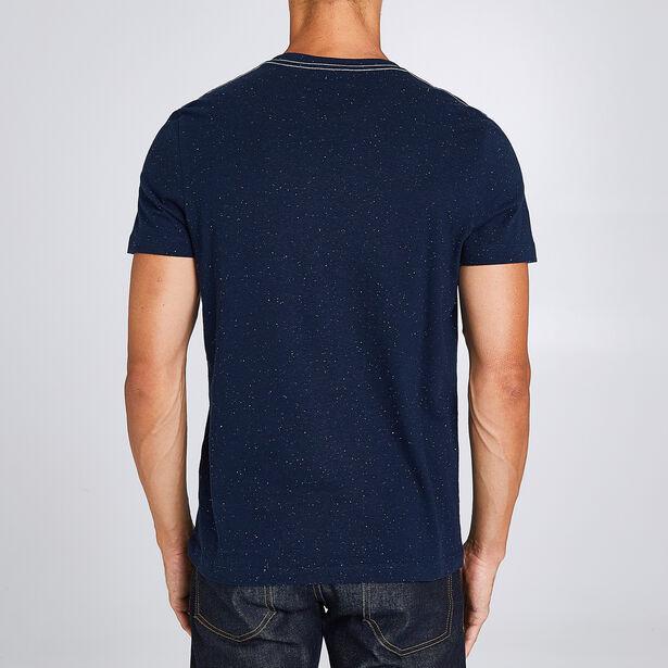 T-shirt in fantasiestof met wolvenprint