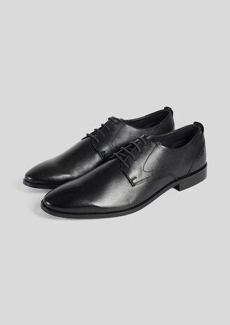 SMART schoenen in glad leer