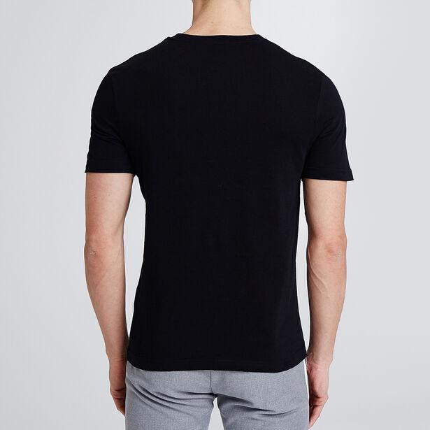 T-shirt met opdruk 'curious'