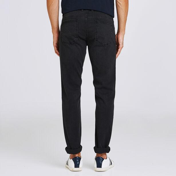 Jean slim Tom 5 poches noir lavé