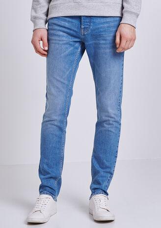 Slim jeans, gewassen, 4L