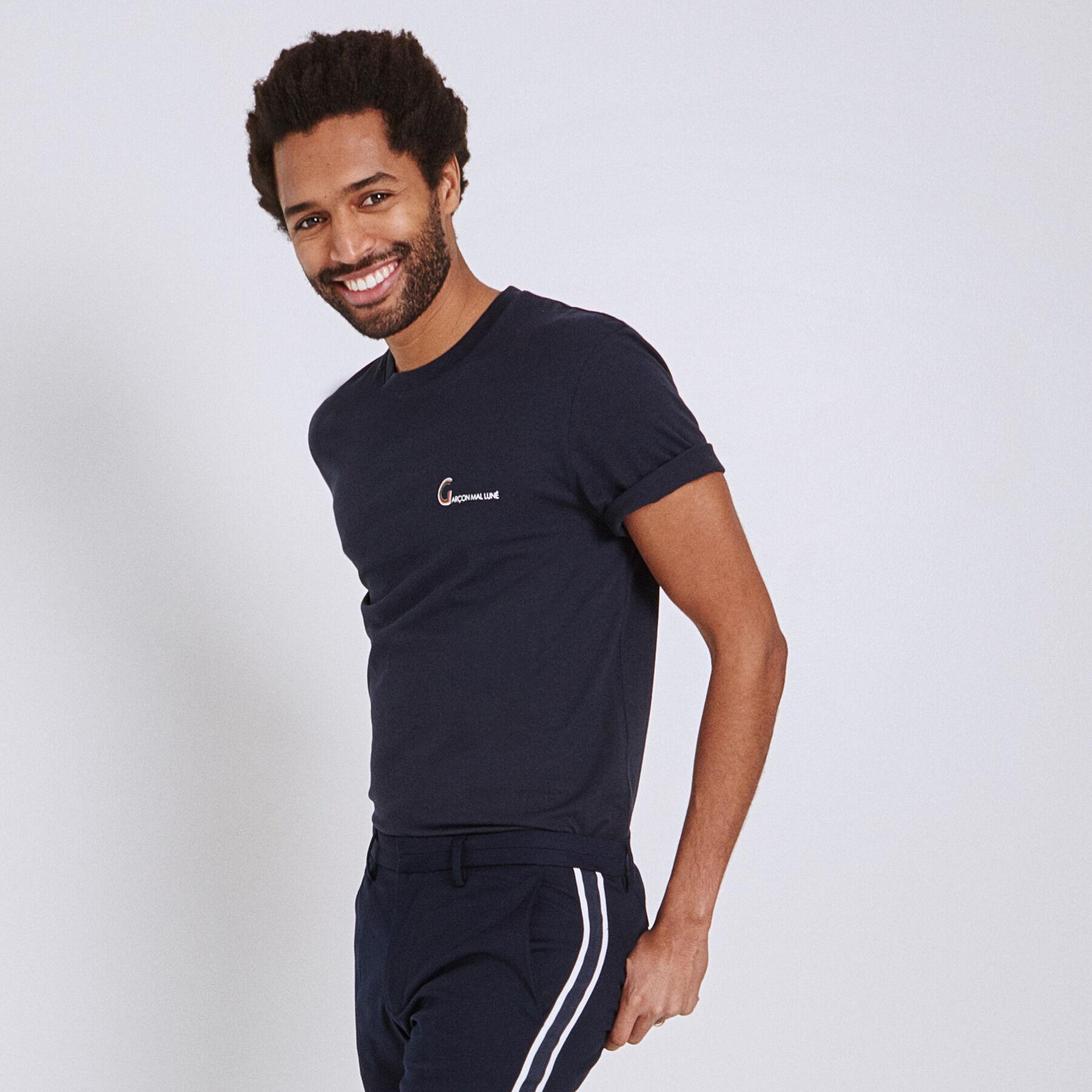 Shirt Imprimé Rayé Homme T Uni Aq48d