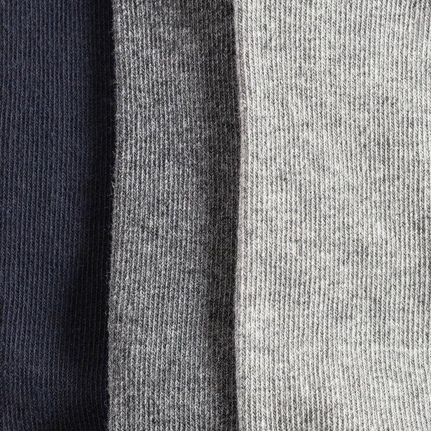 Lot de 3 paires de chaussettes basses unies homme