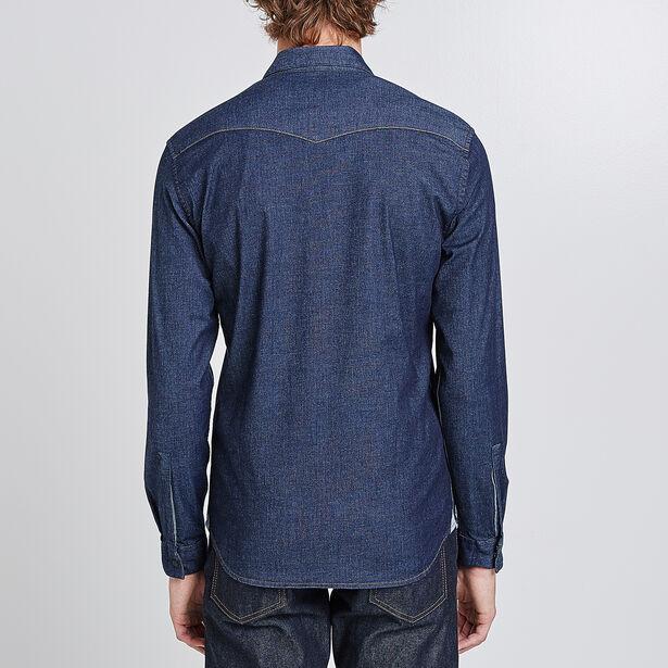 Camicia Slim di Jeans Urban Flex