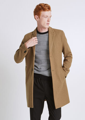 Manteau essentiel lainage