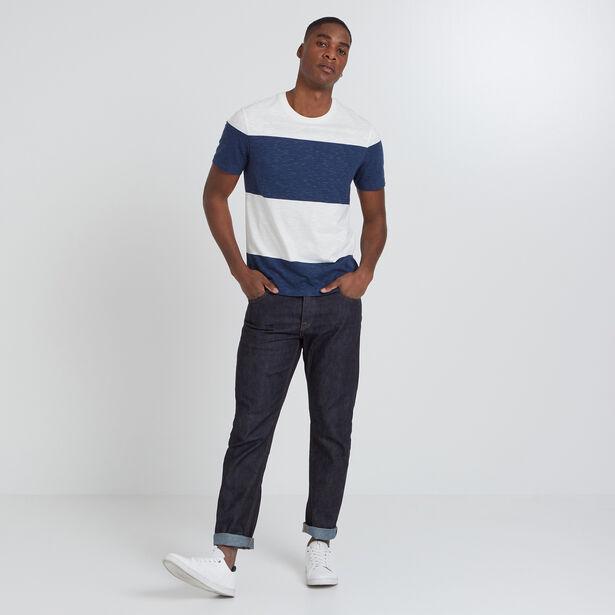 tee shirt larges rayures