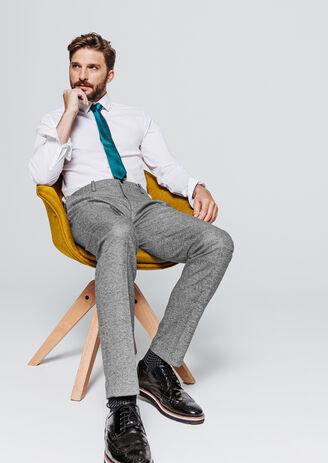Pantalon de costume coupe slim