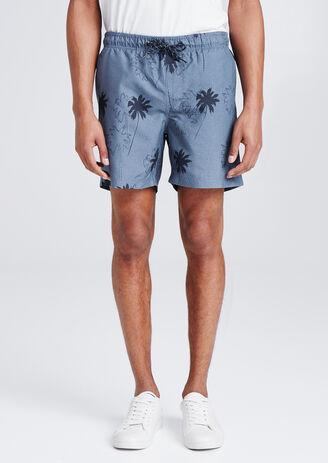 Maillot de bain homme à motif palmier