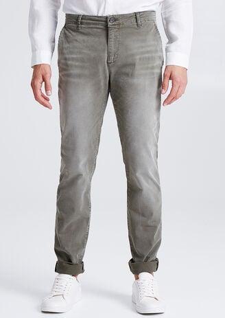 Chino Slim garment dyed