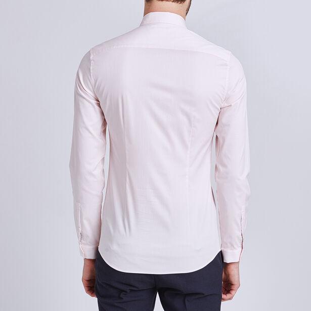 Effen extraslim hemd