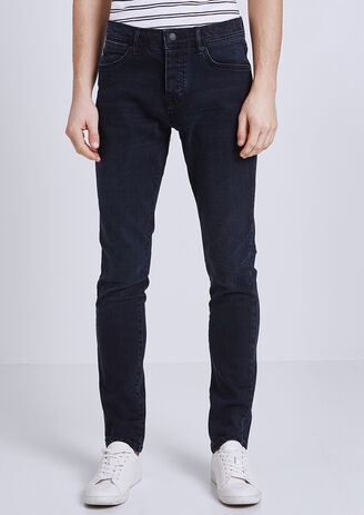 Slim jeans, blue black 4L