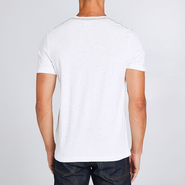 Tee shirt col rond regular imprimé ours