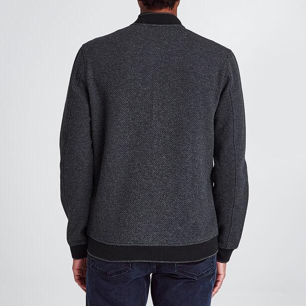 Sweater met teddy-kraag en rits