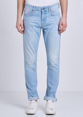 Slim jeans, bleach