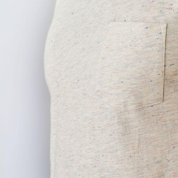 T-shirt col rond poche