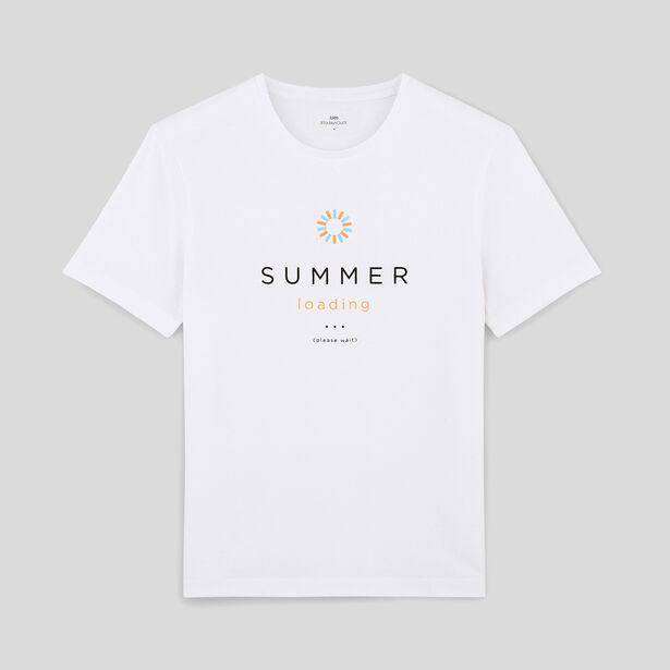 tee shirt SUMMER LOADING