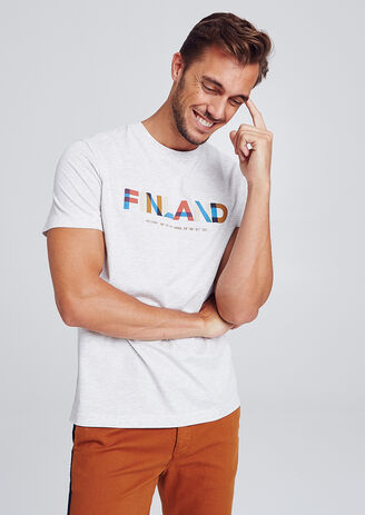 T-shirt print FINLAND