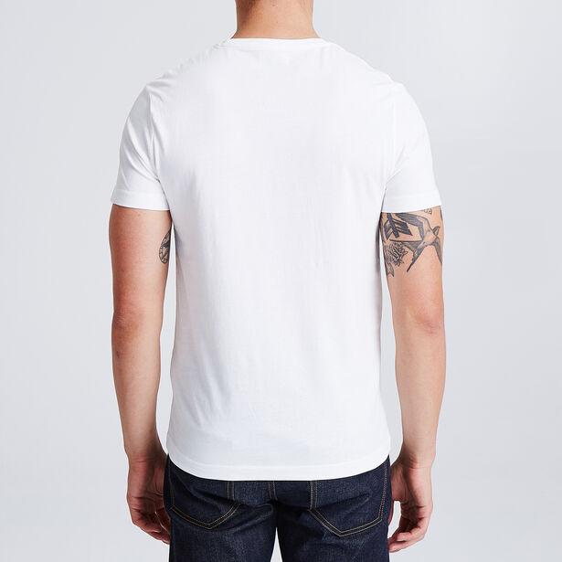 T-shirt met opdruk 'Chocolatine', knipoog naar de