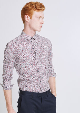 Camicia Extra Slim Stampata