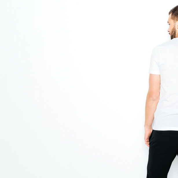 T-shirt col rond Leave work