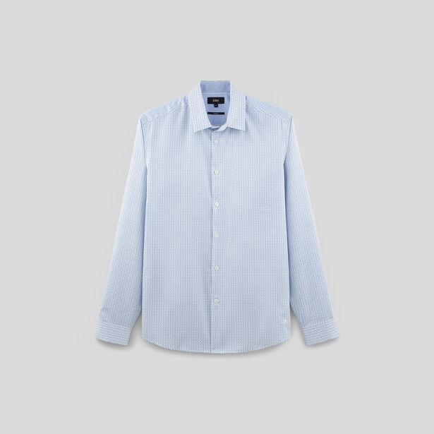 chemise regular imprim e repassage superflu blanc fantaisie homme jules. Black Bedroom Furniture Sets. Home Design Ideas
