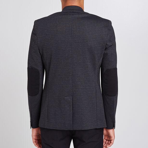 Geruit vest in tricot