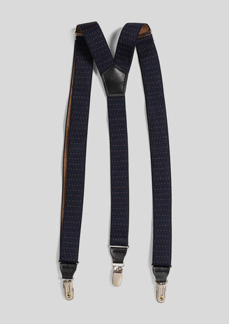 Elastische bretels met stippen